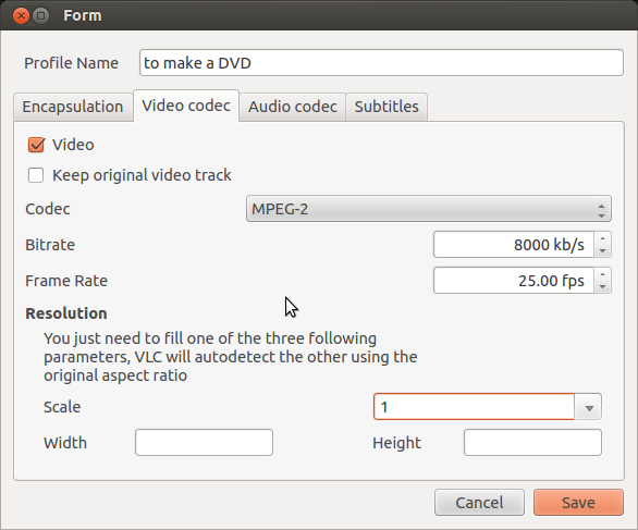 how to add codec to vlc